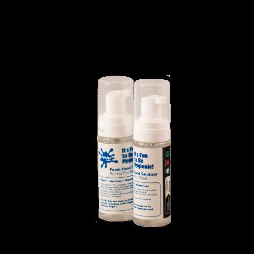Splodge antiviral hand sanitiser 50ml pot